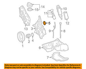 Details about MERCEDES OEM 08-12 C300 3.0L-V6 Engine-Timing Cover Rear on