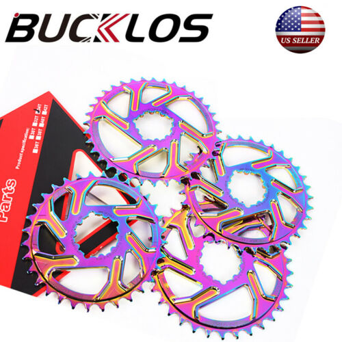 MTB Bike GXP Offset 3mm Chainring 32-38T Narrow Wide Bicycle Chainwheel CNC US