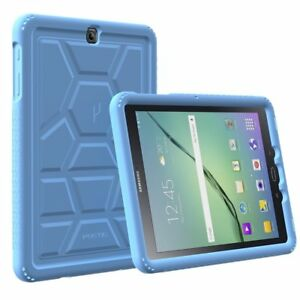 Galaxy-Tab-A-9-7-2015-Tablet-Case-Poetic-Soft-Silicone-Protective-Cover-Blue