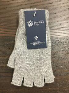 100-Cashmere-Fingerless-Gloves-Johnstons-of-Elgin-Made-in-Scotland-Grey