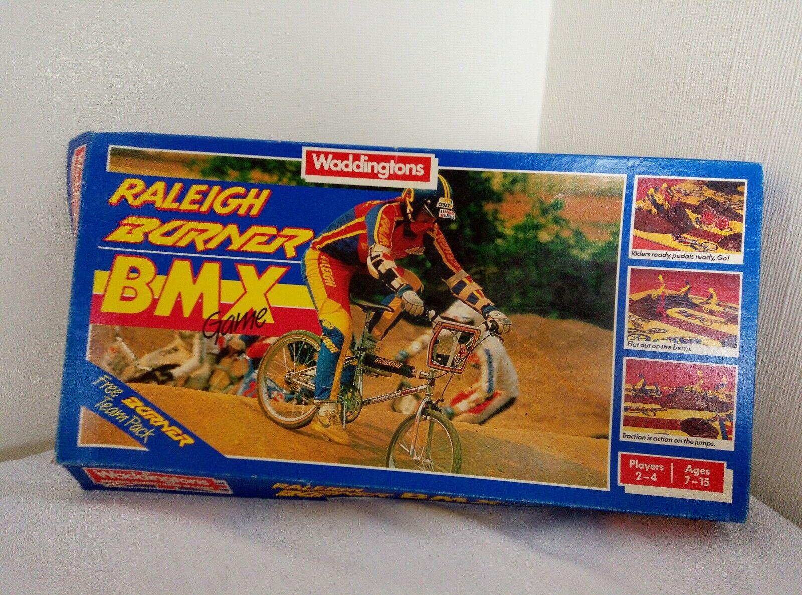 Raleigh brenner bmx - retro - spiel waddingtons boxed 1985