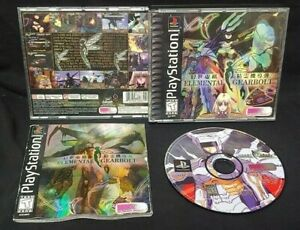 Elemental-Gearbolt-RPG-Working-Designs-Playstation-1-2-PS1-PS2-Game-Rare-Tested