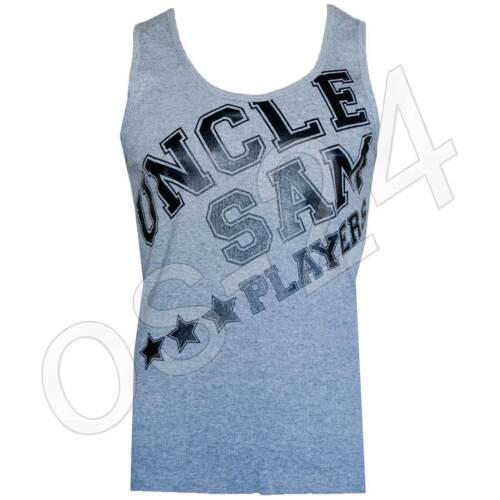 Uncle Sam Herren Muskelshirt Sportshirt Gr.L XL XXL