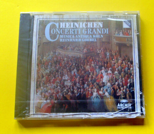 "1 von 1 - CD NEU  "" HEINICHEN - CONCERTI GRANDI "" MUSICA ANTIQUA KÖLN / KLASSIK - OVP"