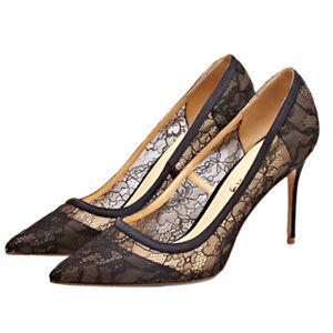 Chaussures femmes pompes mousseline pointu bout hautes printemps xoBerdCW