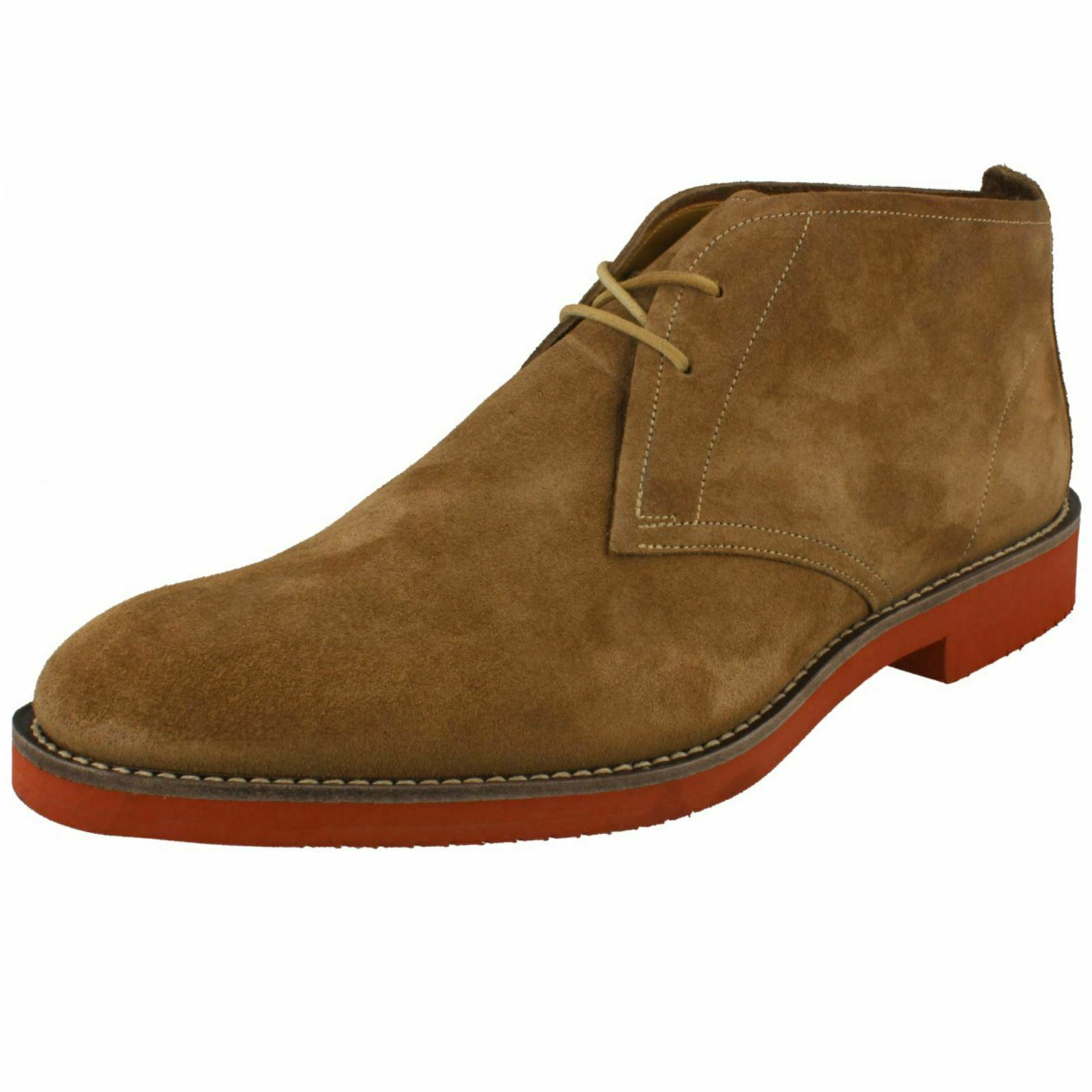 Mens Loake Desert Style Lace Up Stiefel Lennox