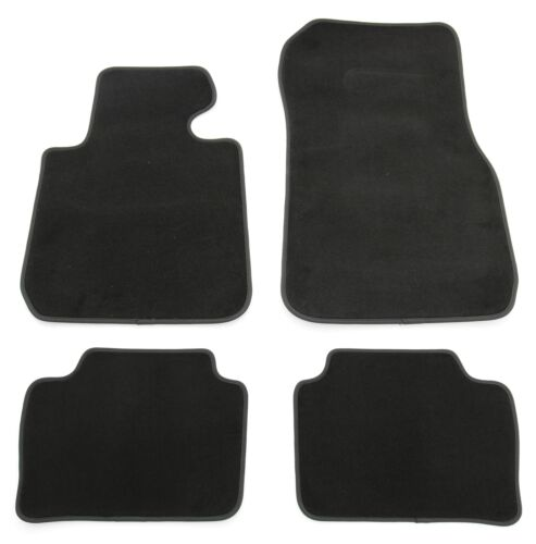 Alfombras tapices set para 3er bmw f30 f31 m3 f80 gamuza calidad alfombras coche negro