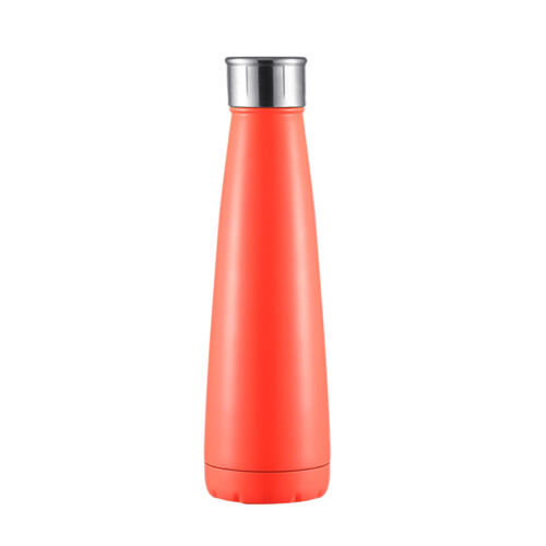 BPA Free 400ML Vacuum Insulated Stainless Steel Water Bottle Double-Walled Gym