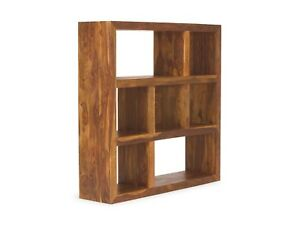 Regal 7 Facher Massiv Holz Palisander Raumteiler Buromobel Neu Cube