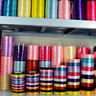 25 Yards Satin Ribbon Wedding Party Craft Sewing Decoration Multi-Colors