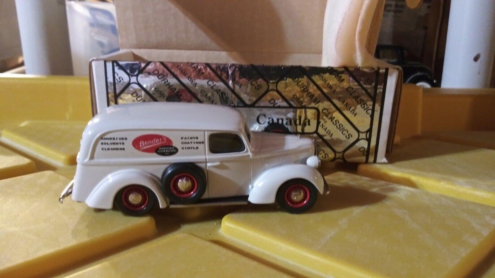 DURHAM CLASSICS 1 43 SCALE 39 FORD PANEL DIECAST CAR
