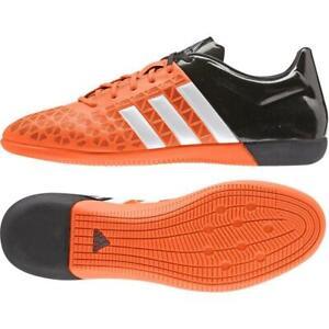 ADIDAS ACE 15.3 Intérieur Orange Football Chaussures Futsal Football Crampons S83221
