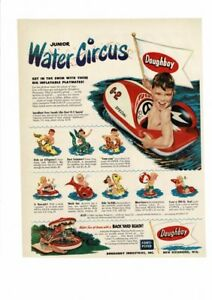VINTAGE 1952 and 1954 DOUGHBOY JUNIOR WATER CIRCUS ...