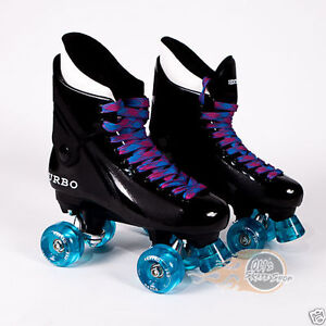 Ventro-Pro-Turbo-Quad-Roller-Skates-Bauer-Style-Light-Blue-Pink