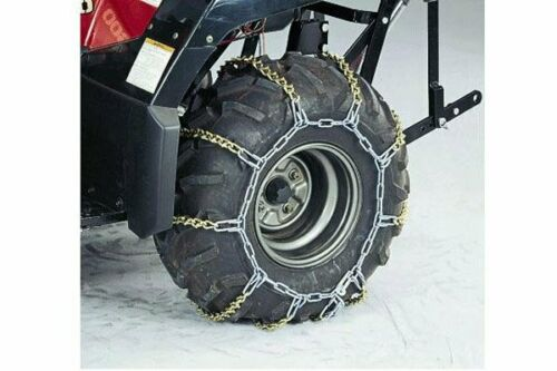 2 Chains - Tire Size 25x8x12 2009-2014 Yamaha 700 Grizzly Front Snow Chains
