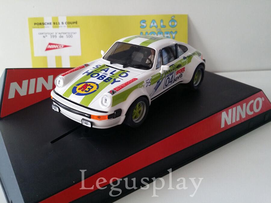 SCX Scalextric Slot Ninco 50354 Porsche 911 SC SALO DEL HOBBY 2018 LT. ED 500
