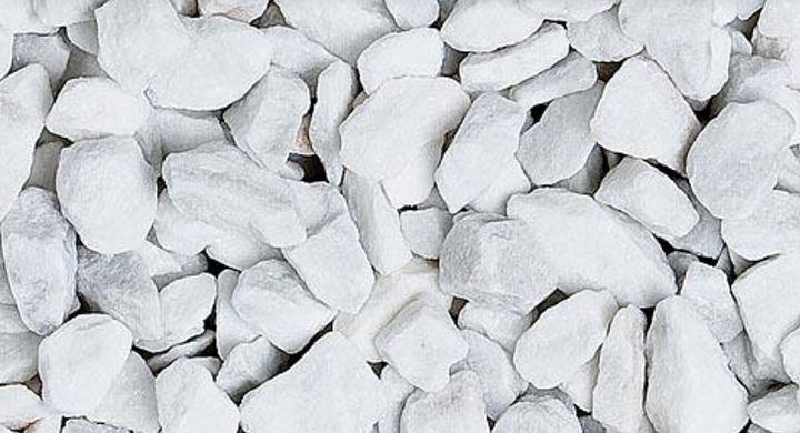 Steinteppich + Binder 5 m² Basisset Bianco Carrara Marmorkies Wohnbereich Büro