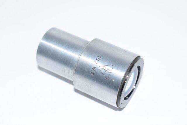 Bausch & Lomb 10x W.F. Wide Field Microscope Objective