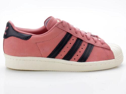 149f52c902 Adidas Superstar 80s W CQ2513 pink-schwarz-weiß Trainers Women's Shoes