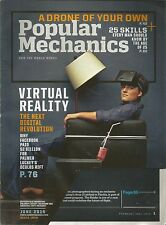 Popular Mechanics June 2014 Virtual Reality/A Drone of Your Own