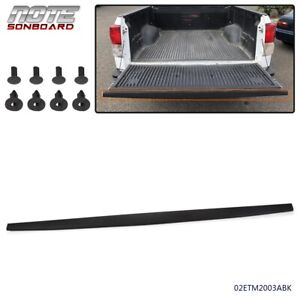 Tailgate Molding Top Cap Protector Spoiler For 2007-2013 Toyota Tundra Black