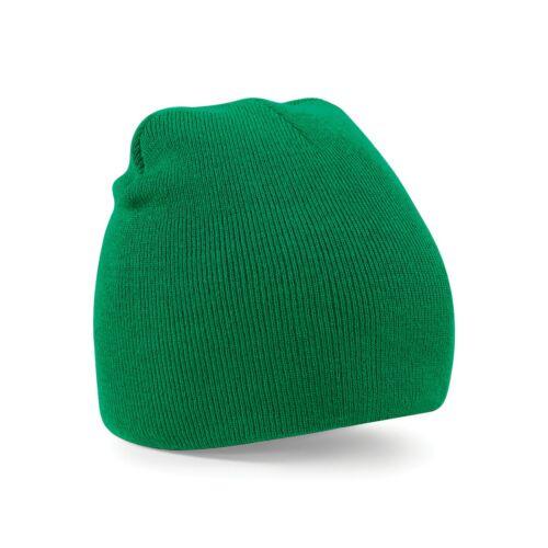 Beechfield Plain Basic Knitted Winter Beanie Hat Warm Thermal RW209