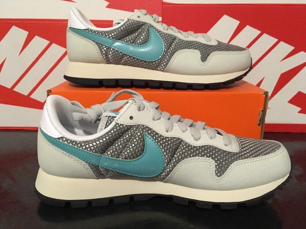 V54 Women's Nike Air Pegasus '83 UK 4 EU 37.5 828403-005 Light Silver Teal White