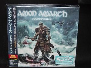 amon amarth jomsviking 2 japan cd eternal oath doro pesch sweden viking metal 4547366258356. Black Bedroom Furniture Sets. Home Design Ideas