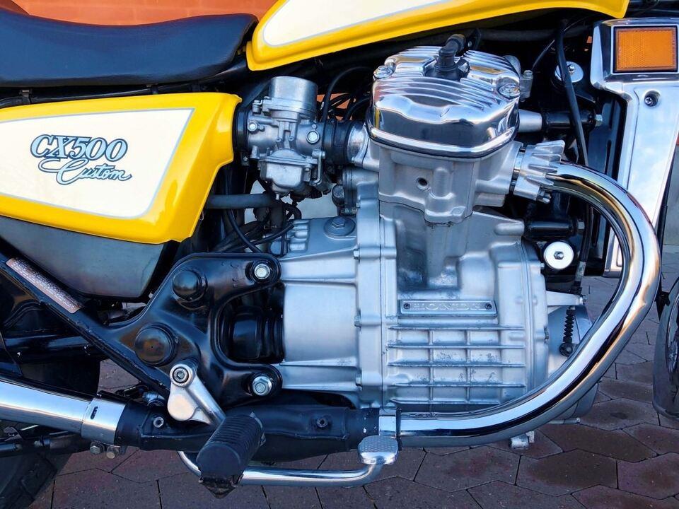 Honda, Honda CX 500 C, 500