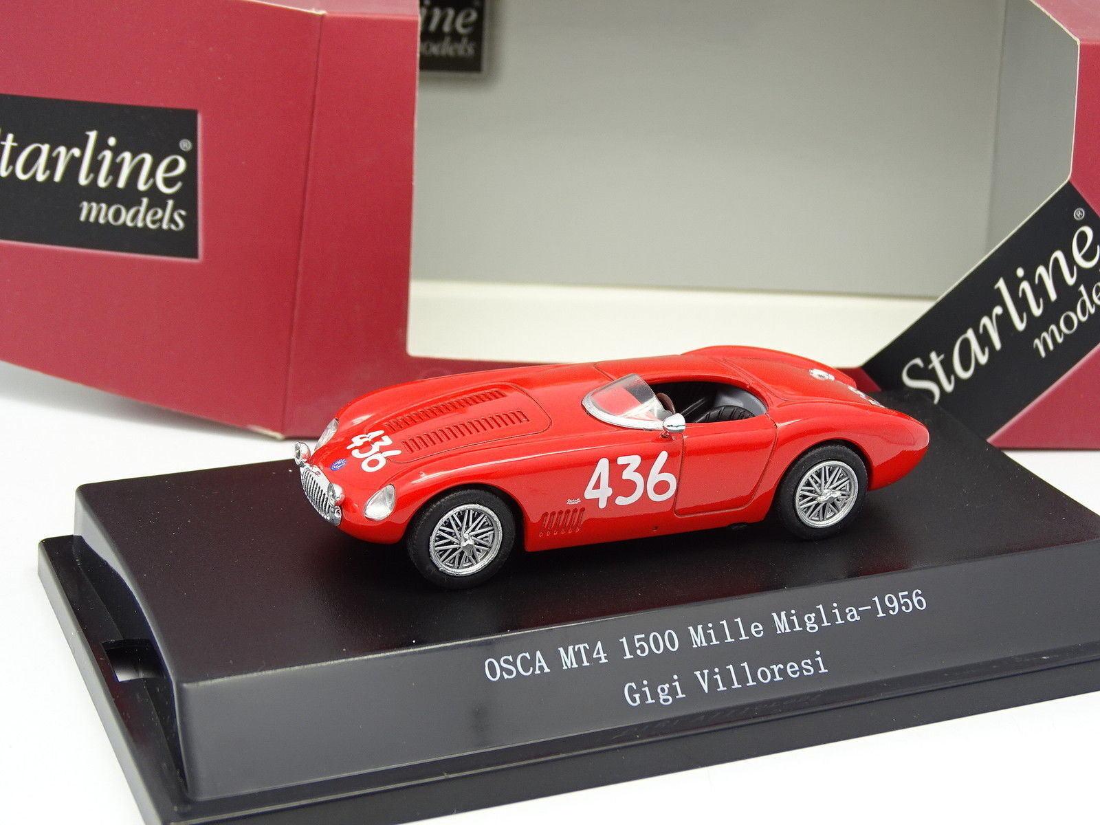 Starline 1 43 - Osca MT4 1500 Mille Miglia 1956