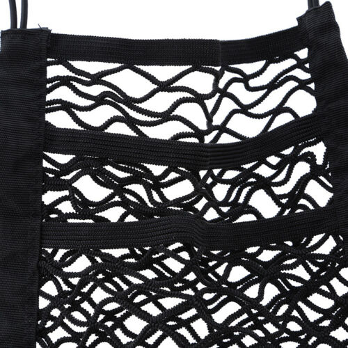 Black Mesh Seat Back Net Bag Backseat In Beverage Bag Mobile Phone Box WE