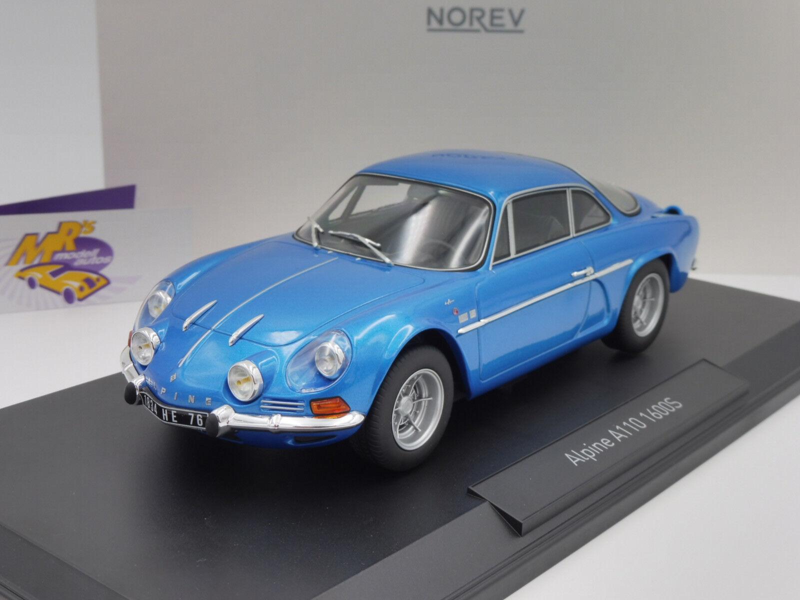 Norev 185300 Renault Alpine A110 1600S Baujahr 1971   bluemetallic   1 18 NEU