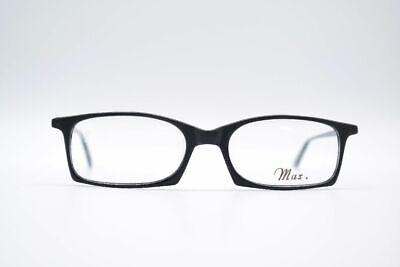 Vintage Max. Handmade Siegel Pitman 109 51[]18 140 Schwarz Oval Brille Nos