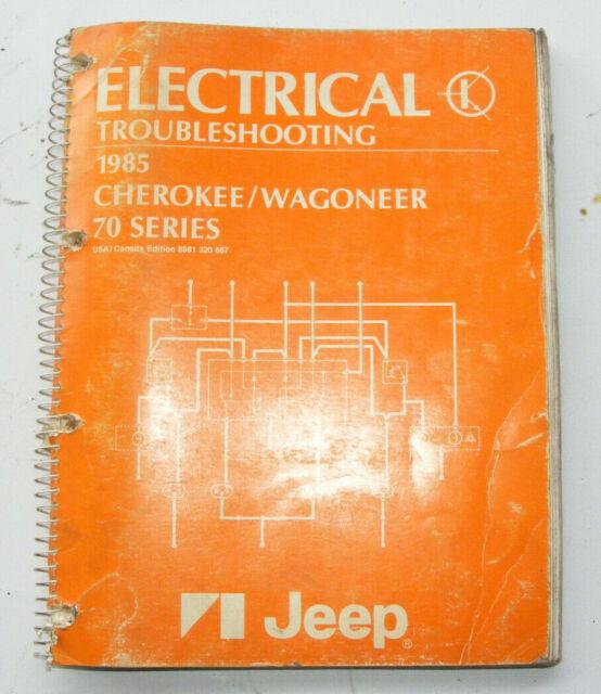 Electrical Troubleshooting 1985 Cherokee  Wagoneer 70