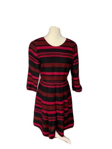 Draper James Collection Stripe Dress Sz 6