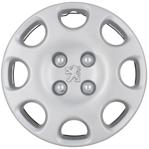 1 unidades 9648316280 Original peugeot calota radblende 14 pulgadas cuba plata