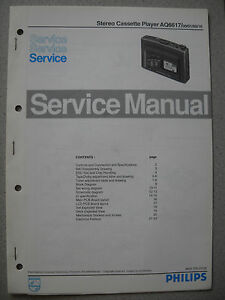 Philips AQ6617 Service Manual