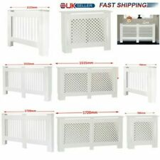 Mordern Radiator Cover MDF Cabinet - Wood Heating Covers - Small Medium Large XL