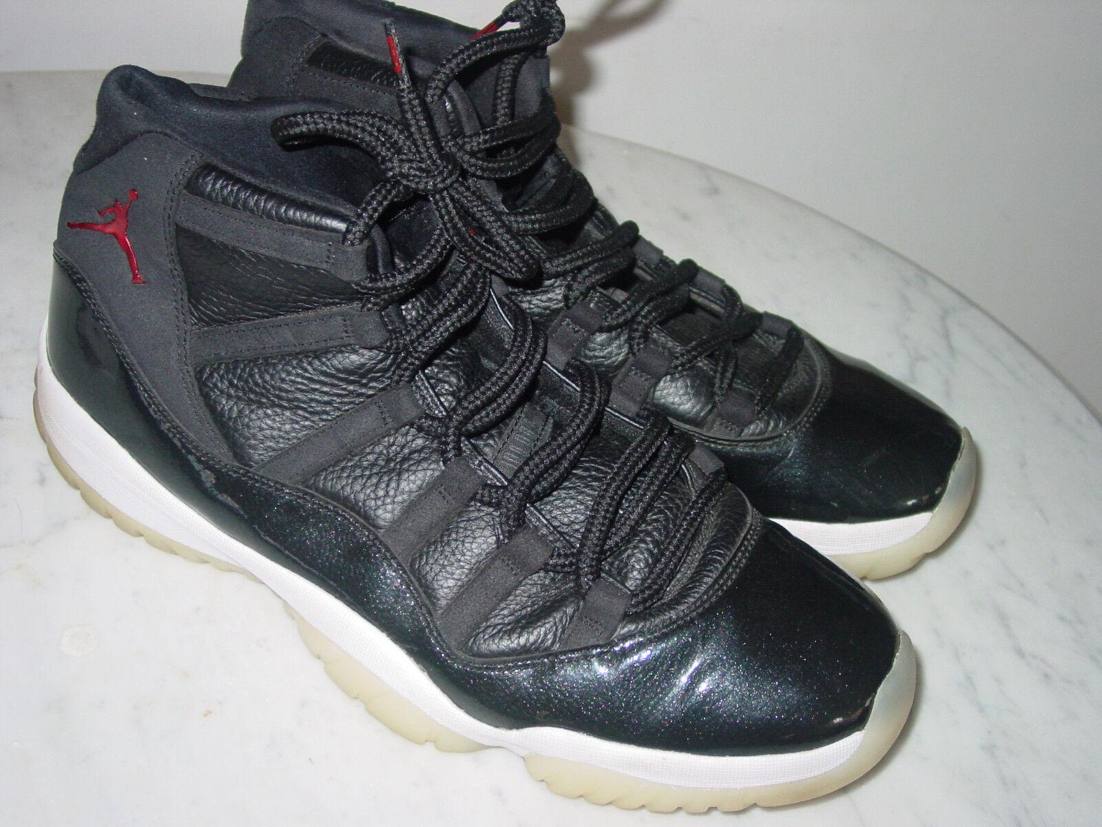 2015 Nike Air Jordan Jordan Jordan Retro 11  72-10  Black Red Anthracite shoes  Size 13 0d440c