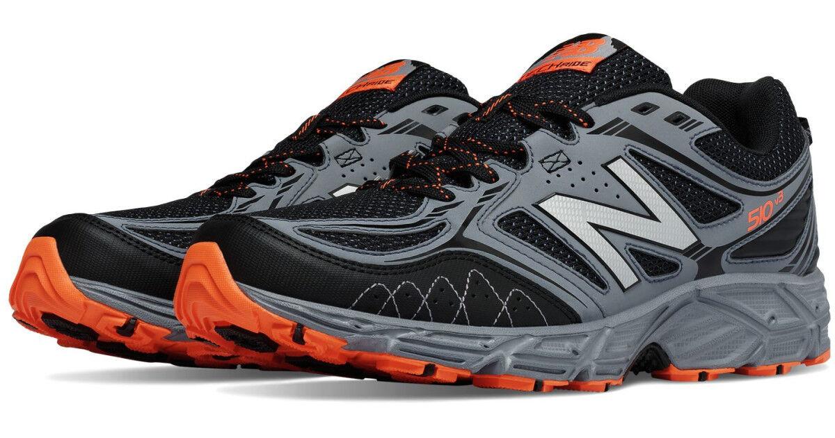 NIB New Balance 510 510v3 Men's Trail 610 Running 481 Shoes Medium&4E WIDE GryOr 481 Running f22e5d