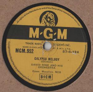 David-Rose-Calypso-Melody-10-034-Single-78-rpm
