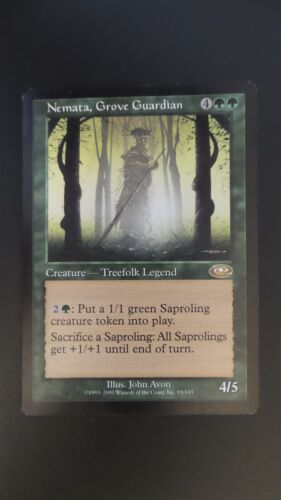 Planeshift ** Nemata EX//SP Grove Guardian ** Mtg Magic