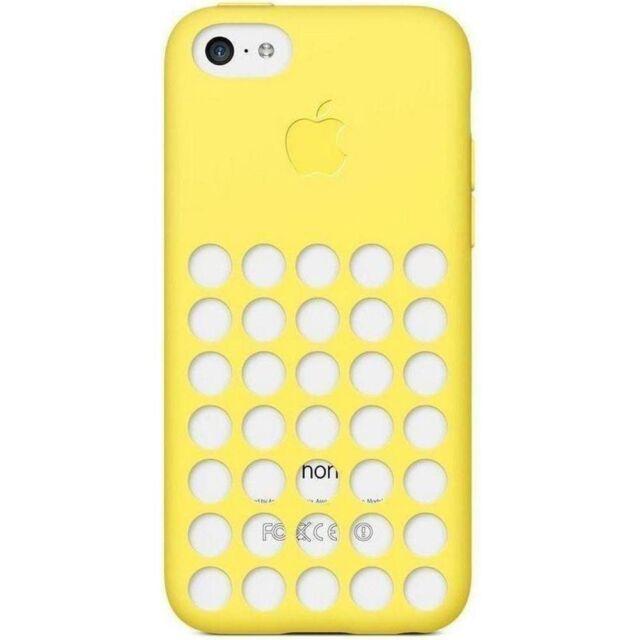 Auténtico Apple Funda para Iphone 5C Amarillo