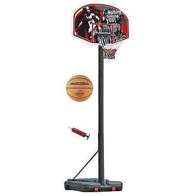 Basketballständer Set incl. Ball & Pumpe GH 305 cm Hudora Chicago Basketballkorb