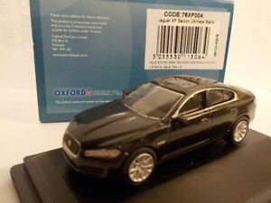 Jaguar-XF-negro-modelo-coches-Oxford-Diecast