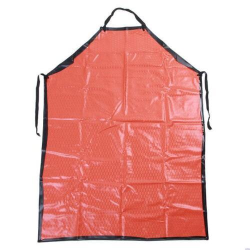 Industrial Compound Apron Waterproof Acid Resistant Kitchen Black 1Pc PVC Apron