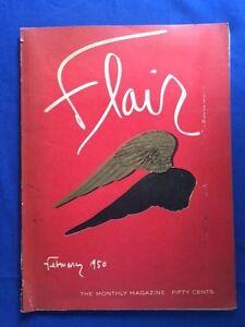 FLAIR-FEBRUARY-1950-FLEUR-COWLES-EDITOR