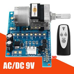 AC-DC-9V-Infrared-Pre-AMP-Motor-Audio-Amplifier-Volume-Remote-Control-Board-Safe