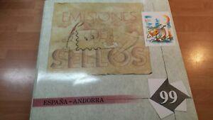 1999-LIBRO-OFICIAL-DE-CORREOS-ESPANA-OFERTA-UNICA-Y-ESPECIAL-SUPER-NUEVO-LUJO