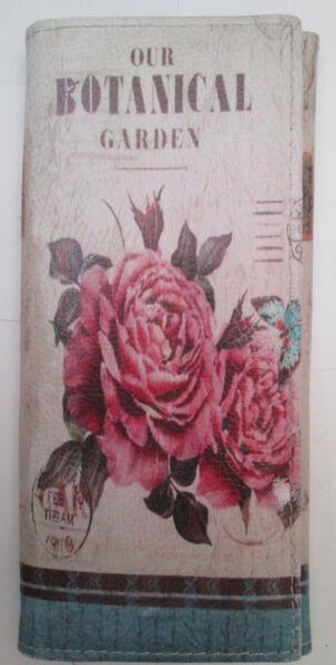 -authentique Portefeuille-porte-monnaie Botanical Tbeg Vintage Vendita Calda 50-70% Di Sconto